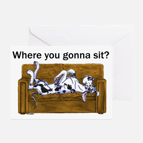 NH Where RU Gonna Sit? Greeting Cards (Pk of 10)
