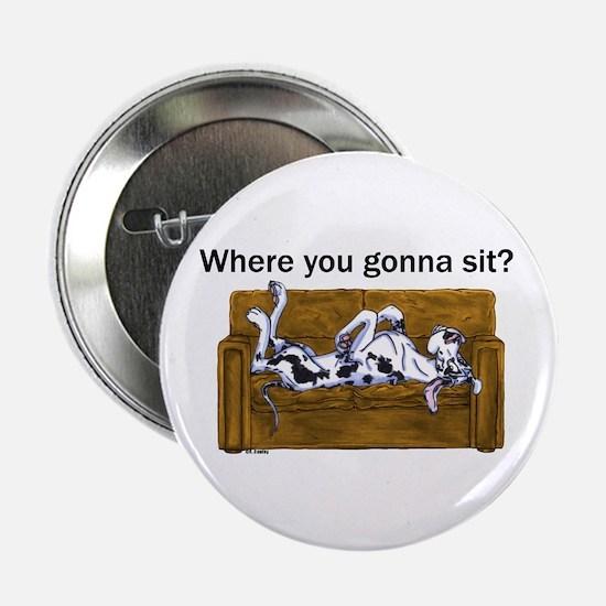 """NH Where RU Gonna Sit? 2.25"""" Button"""