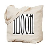 309B. MOON. .  Tote Bag