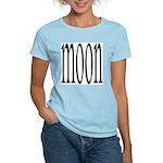 309B. MOON. .  Women's Pink T-Shirt