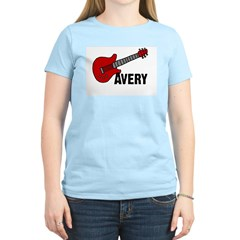 Guitar - Avery Women's Light T-Shirt