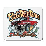 Big Red Ram Cartoon Mousepad