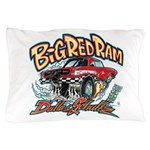 Big Red Ram Cartoon Pillow Case