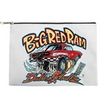Big Red Ram Cartoon Makeup Bag