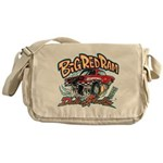 Big Red Ram Cartoon Messenger Bag