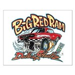 Big Red Ram Cartoon Posters