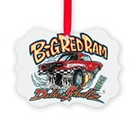 Big Red Ram Cartoon Ornament