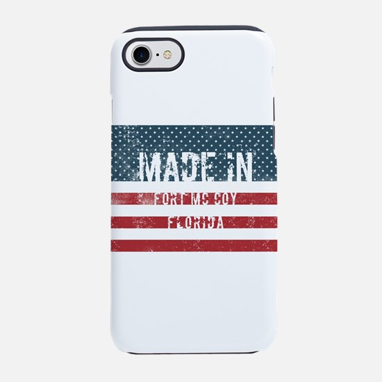 Made in Fort Mc Coy, Florida iPhone 8/7 Tough Case