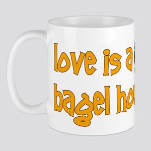 Love is a Bagel Mug