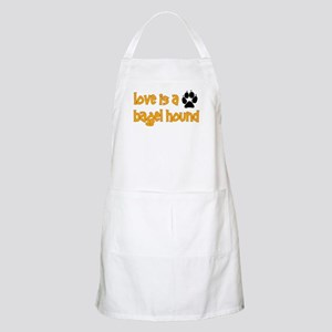Love is a Bagel BBQ Apron