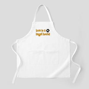 Love is a Bagel BBQ Apron