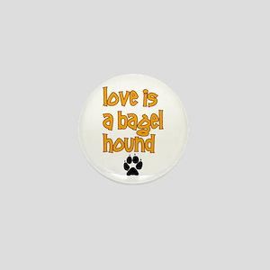 Love is a Bagel Mini Button