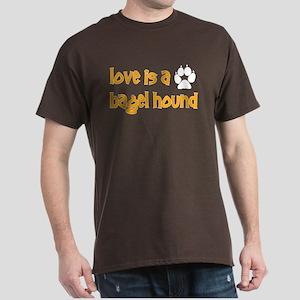 Love is a Bagel Dark T-Shirt