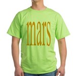 309.mars/ orange Green T-Shirt