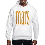 309.mars/ orange Hooded Sweatshirt