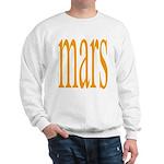 309.mars/ orange Sweatshirt
