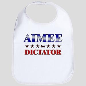 AIMEE for dictator Bib