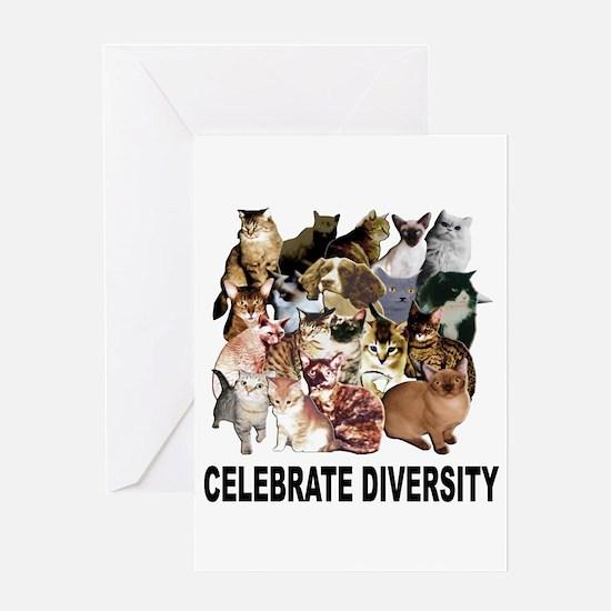 Celebrate Diversity Greeting Card