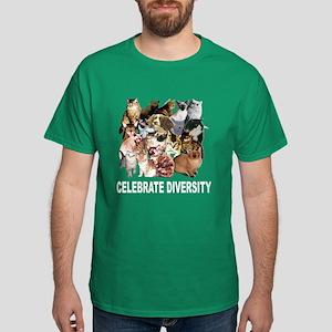 Celebrate Diversity Dark T-Shirt