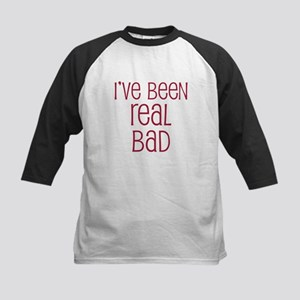 I've been real bad Kids Baseball Jersey