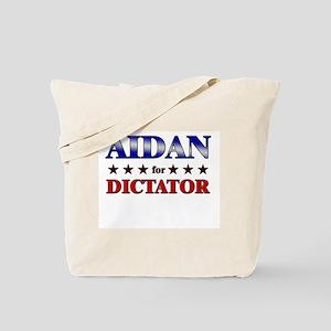 AIDAN for dictator Tote Bag
