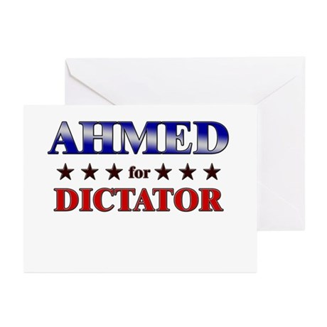 AHMED for dictator Greeting Cards (Pk of 20)