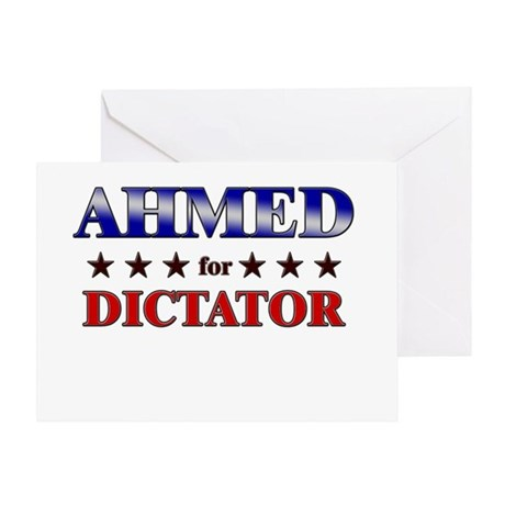 AHMED for dictator Greeting Card