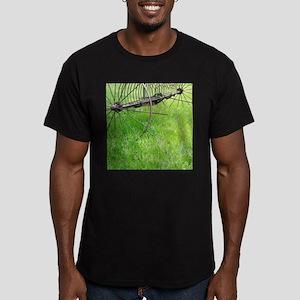 Farm Equipment Men's Fitted T-Shirt (dark)