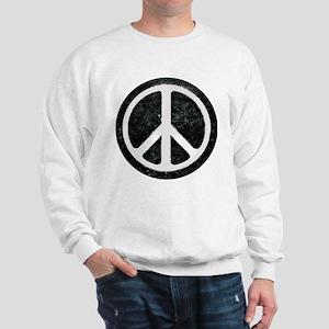 Original Vintage Peace Sign Sweatshirt