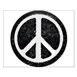 Original Vintage Peace Sign Small Poster