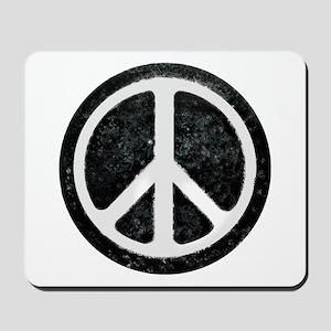 Original Vintage Peace Sign Mousepad