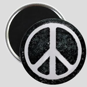 Original Vintage Peace Sign Magnet