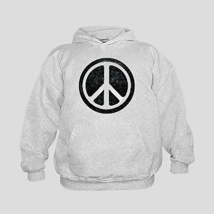 Original Vintage Peace Sign Kids Hoodie