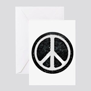 Peace symbol greeting cards cafepress original vintage peace sign greeting card m4hsunfo Images