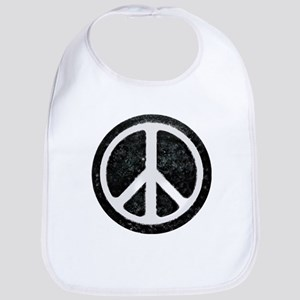 Original Vintage Peace Sign Bib