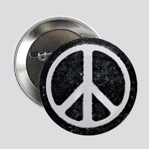 """Original Vintage Peace Sign 2.25"""" Button"""