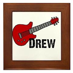 Guitar - Drew Framed Tile