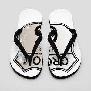 55c6875de37c Mother Of The Groom Flip Flops - CafePress