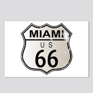 Miami Route 66 Postcards (Package of 8)