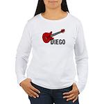 Guitar - Diego Women's Long Sleeve T-Shirt