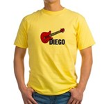 Guitar - Diego Yellow T-Shirt