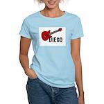 Guitar - Diego Women's Light T-Shirt