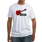 Guitar - Diego Fitted T-Shirt