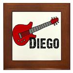 Guitar - Diego Framed Tile