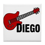 Guitar - Diego Tile Coaster