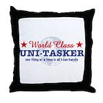 World Class Uni-Tasker Throw Pillow