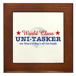 World Class Uni-Tasker Framed Tile