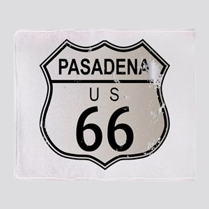 Pasadena Route 66 Throw Blanket