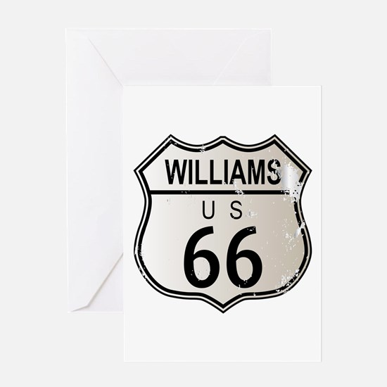 Williams Route 66 Greeting Cards