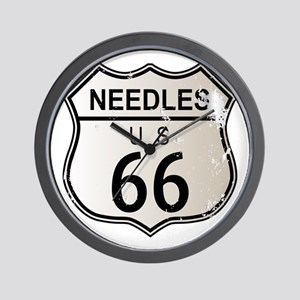 Needles Route 66 Wall Clock